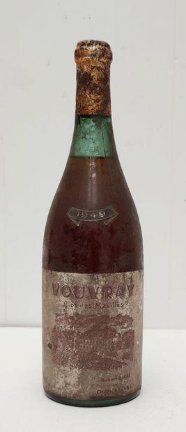 1 BOUT VOUVRAY CLOS DES MABILLES 1949
