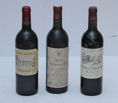 3 bout Margaux : 1 bout Chateau Dauzac 1997,...
