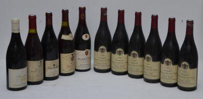 11 bout : 6 bout Bourgogne Hautes Côtes de...