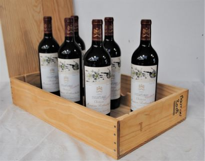 6 bout CHT MOUTON ROTHSCHILD 2005