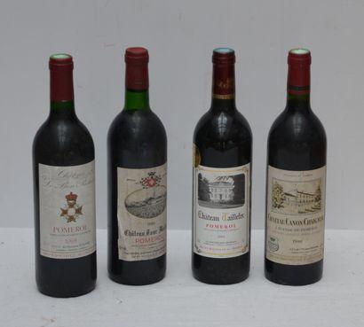 4 bout : 1 bout Chateau Tour Maillet 1986...