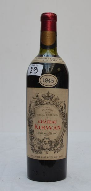 1 bout CHT KIRWANN 1945 SCHRODER & SCHYLER...