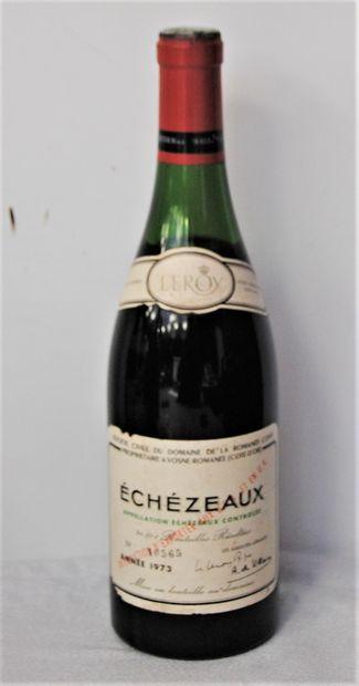 1 bout ECHEZEAUX DRC 1973 (-4CM)