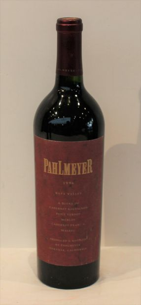 1 bout PAHLMEYER 1996 95/100 CAIFORNIE