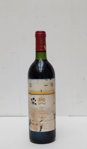 1 BOUT MOUTON ROTHSCHILD 1983