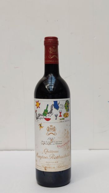 1 BOUT MOUTON ROTHSCHILD 1997