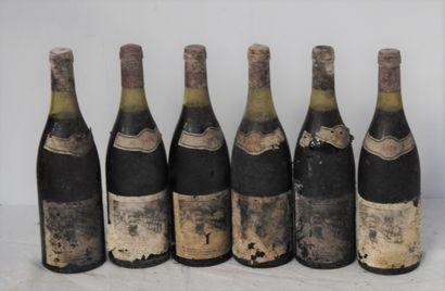 6 bout POMMARD RUGENS MICHEL PONT 1978 (étiquettes...