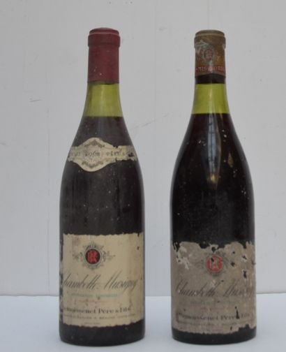 2 bout CHAMBOLLE MUSIGNY 1962