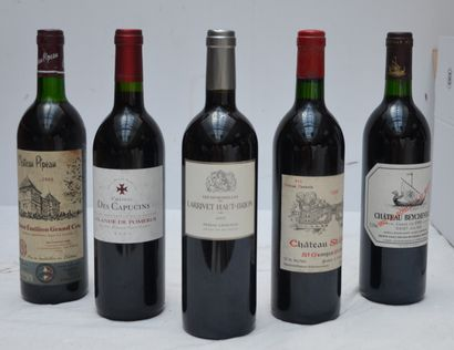 5 bout 1 CHT BEYCHEVELLE 1990, 1 CHT ST GEORGES...