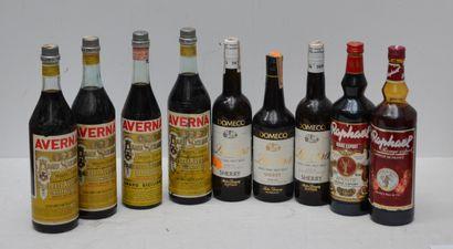 9 bout : VINS CUITS ITALIENS, RAPHAEL, S...