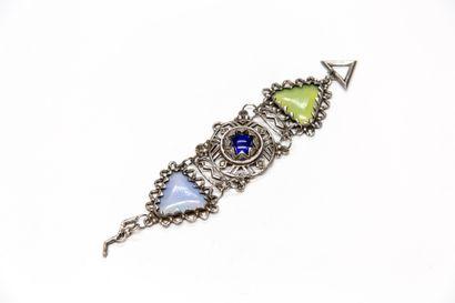 Claire Deve - (années 1980)  Bracelet d'inspiration...