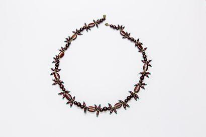 Jeanne Péral - (années 1950)  Elégant collier...