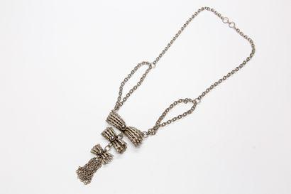 Wolloch - (années 1970)  Elégant collier-pendentif...