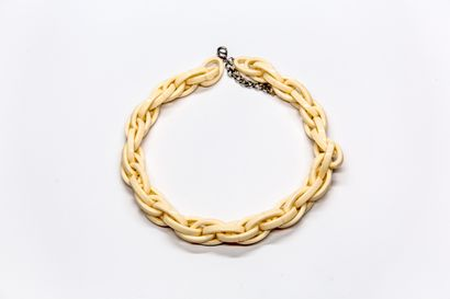 Agatha - (années 2000)  Collier composé d'anneaux...