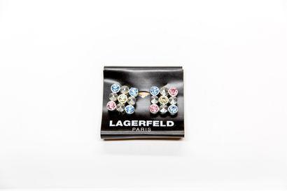 Karl Lagerfeld - (années 1980)  Paire de...