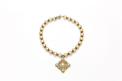MS - (années 1980)  Collier style Chanel...