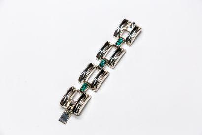 Babylone - (années 1990)  Bracelet en métal...