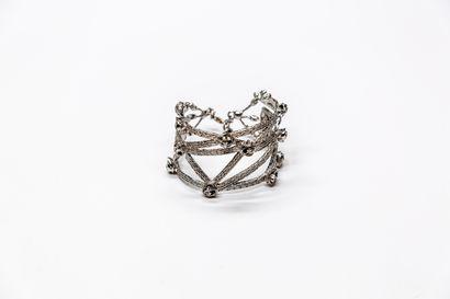 Hanaé Mori - (années 1980)  Bracelet manchette...