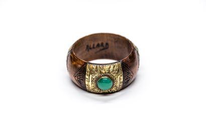 Allard - (années 1930)  Bracelet manchette...