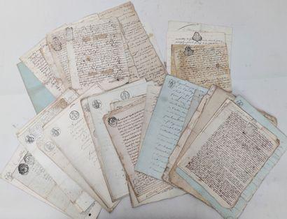 Ensemble de documents anciens