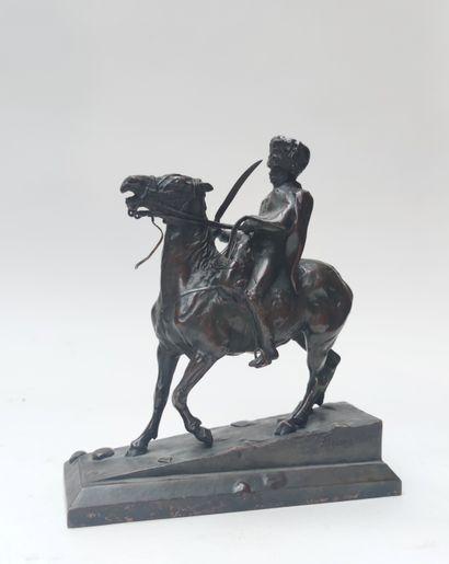 Ernest Messonier (1815-1891)  Le hussard...