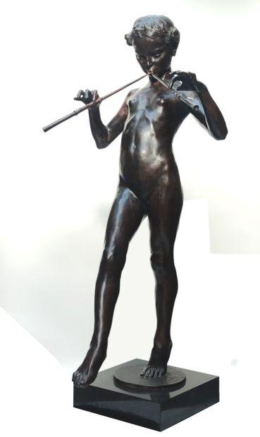 Eugène D. PIRON (1875-1928)  La Faunesse...