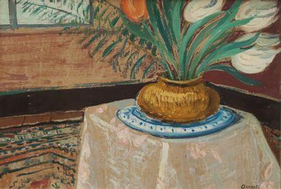 Alphonse QUIZET (1885-1955)  Bouquet de...