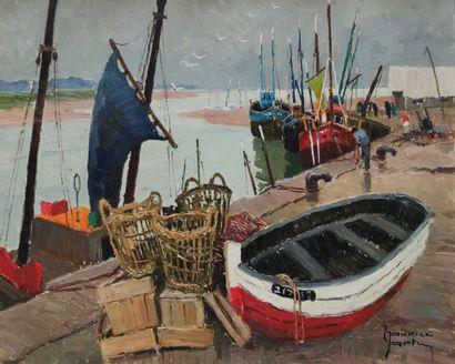 MAURICE-MARTIN (1894-1978)  Petit port de...
