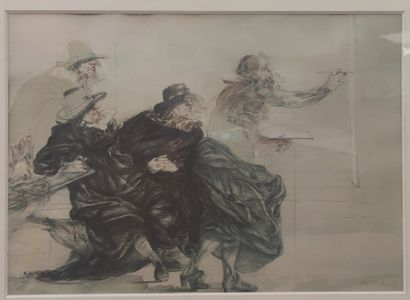 CLAUDE WEISBUCH (NE EN 1927) Le peintre...