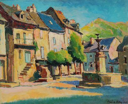 Pierre DE BELAY (1890-1947)  Saint Côme...
