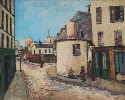 Elisée MACLET (1881-1962)  Rue du du Mont...
