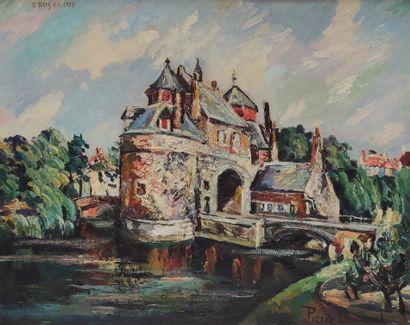 Pierre DUMONT (1884-1936) La vieille porte...