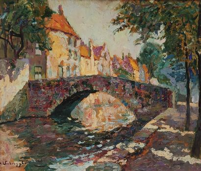 Charles Henri VERBRUGGHE (1877-1974)  Le...