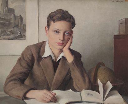 Maurice Ambroise EHLINGER (1896-1981)  Dominique,...