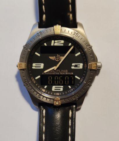 BREITLING Montre bracelet d'homme chronomètre...
