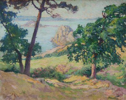 Paul MADELINE (1863-1920) Kermouster en...