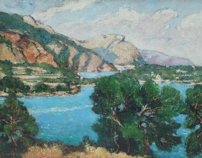 André WILDER (1871-1965)  Baie de Villefranche...