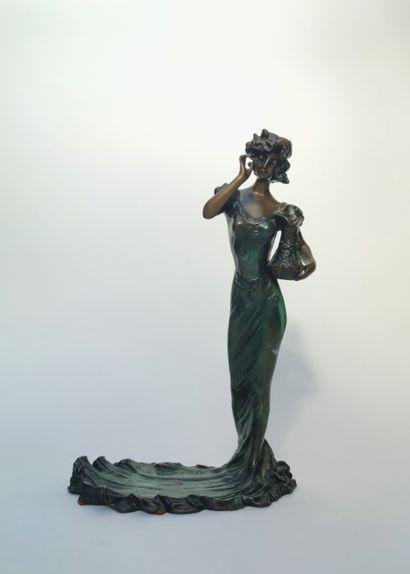 Désiré GRISARD (1872-?) d'après  Jeune femme...