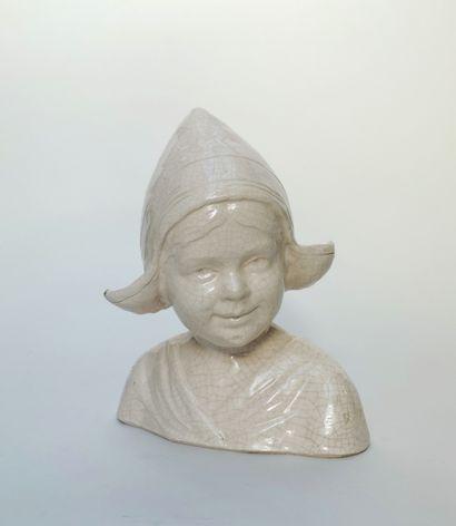 Aline LAUTH-BOSSERT ( 1869-1955)  Buste de...