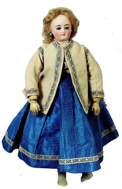 Très rare poupée parisienne de la maison...