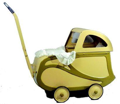 Voiture de poupée de style aérodynamique...