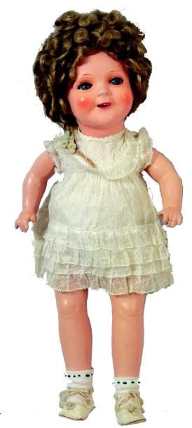 SHIRLEY TEMPLE, poupée avec tête et corps...