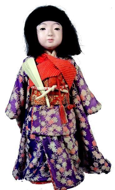 «DAKI-NYNGYO» poupée japonaise en composition...