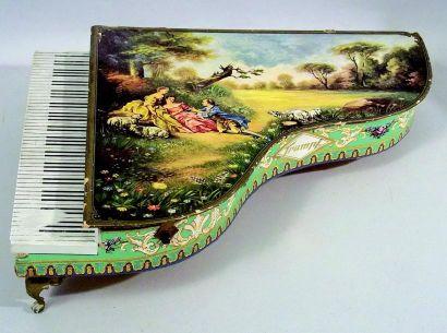 «Tympanon» boîte publicitaire de chocolats...