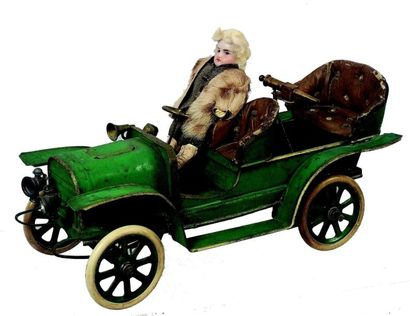 «AUTO-MITRAILLEUSE» extrêmement rare automobile...