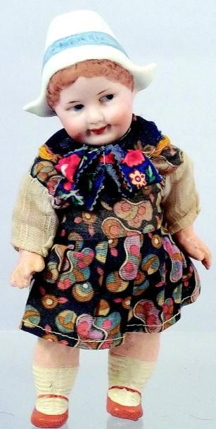 Petit bébé caractère genre GOOGLIE hollandais,...