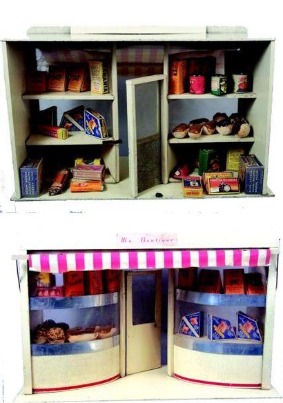 «Ma BOUTIQUE» magasin avec deux vitrines...