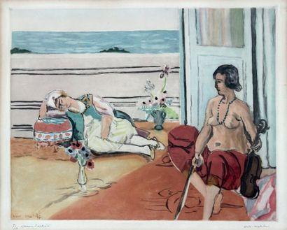 Jacques VILLON (1875-1963) et Henri MATISSE (1869-1954)