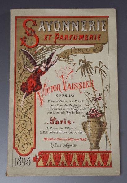 Victor Vaissier - (1893) Rare catalogue commercial illustré comprenant toutes les...