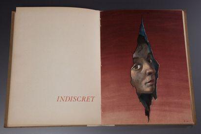 Lucien Lelong - (années 1940) Catalogue commercial illustré d'après A.M.Cassandre...